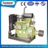 moteur diesel de la vitesse 1500 t/mn du cylindre 44kw 4 pour le mélangeur de transport