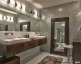PVC fixado na parede com os gabinetes usados dissipador da vaidade do banheiro de Doiuble