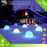 LED 공 정원 플라스틱 공을 바꾸는 원격 제어 색깔