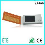 Tarjeta del saludo y de visita de Samll LCD de 2.4 pulgadas