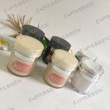 Vaso crema senz'aria acrilico grigio scuro per l'imballaggio di Skincare (PPC-ARCJ-014)