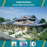 Casa prefabricada moderna de mirada agradable del chalet de la estructura de acero del estilo desmontable de Australia