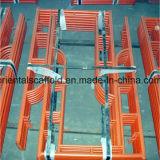 熱いすくいの電流を通された梯子の足場フレーム