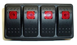 4 Gruppe-Marinejeep-Boots-Automobilwippenschalter-Panel