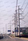 Hot-DIP Galvaniserende Toren van Guyed van het Frame van het Staal van Telecommunicatie