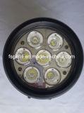 70W車LEDのヘッドライト、円形のクリー族LEDの運転作業ランプ