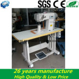 Computer Controller Roller Feed Shoes Making Single Needle Post Bed Máquina de costura