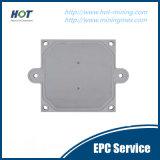Anwendungs-Wasser/Nahrung/Bergbau/chemische Raum-Filterpresse-Platte