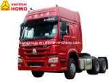 Sinotruk HOWO 판매를 위한 높은 택시 트랙터 트럭 6X4 원동기