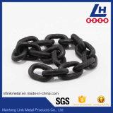 catena a maglia ossidata nera 10mm di 8mm