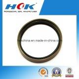 Material do tipo NBR de Hok do selo do óleo do eixo de manivela de Shacman do caminhão