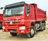 5.8m Sinotruk 6*4 HOWO de Vrachtwagen van de Stortplaats