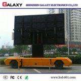 Muestra móvil al aire libre de la cartelera de la visualización de LED de P5/P6/P8/P10 Digitaces de hacer publicidad los carros