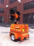 Tour de l'éclairage LED Rplt-6900 avec le générateur diesel