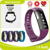 Het Horloge van Bluetooth van de Pedometer van de Meting van de Bloeddruk van de Zuurstof van het Bloed van de Monitor van de Slaap van het Tarief van het hart