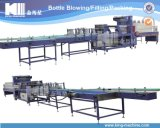 高速自動びんのPEのフィルムの収縮の包装機械