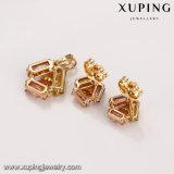 62654 горячим комплект ювелирных изделий конструкции связи сбывания 18k покрынный золотом цветастый