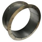 円のリングを形作るために曲がるシート・メタルの部品