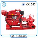 Vendite della pompa antincendio di doppia aspirazione del motore diesel della singola fase