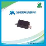 De Oppervlakte van de elektronische Component zet de Diode van de Gelijkrichter van de Macht Schottky Mbr0520lt1g op