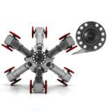 De industriële Robots van het Kruippakje van de Pijpleiding voor 100mm --de Camera van de Inspectie van de Pijp van 2000mm