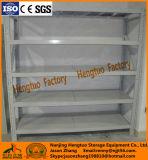 Estantería de acero de ángulo de servicio de luz personalizada para almacenamiento de almacén