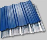 Azulejo de telhado galvanizado ondulado / folha de telhado galvanizado ondulado