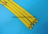 ULの電線の絶縁体のための公認の環境に優しいシリコーンのガラス繊維の袖