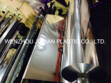 Película metalizada de PVC / plata / oro / película colorida / película de recubrimiento de PVC para decoraciones de guirnalda