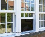 Schiebendes Fenster der Baumaterial-UPVC mit Fiberglas-Ineinander greifen-Fliegen-Bildschirm