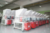 Máquina trituradora de plástico móvil Máquina trituradora de plástico de baja velocidad Granulador