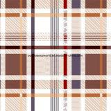 100%Polyester великодушно шотландка Pigment&Disperse напечатала ткань для комплекта постельных принадлежностей