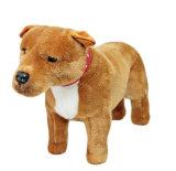 Juguete relleno perrito adorable del perro de la felpa de los cabritos del perro del terrier