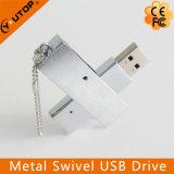 Giro Heavy Metal do aço inoxidável que gira USB Pendrive (YT-1203-02)