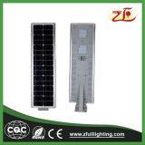 venda quente toda do lúmen 40W elevado em uma luz de rua solar do diodo emissor de luz