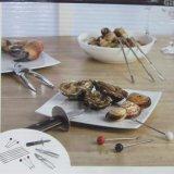 Нож устрицы комплекта 15 инструментов ножей продуктов моря утварей Shellfish сплава цинка PCS