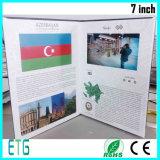 "Broschüre-Gruß-Karte des China-Lieferanten-2.4 "" - 7.0 "" LCD video"