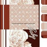a geometria Pigment&Disperse da flor 100%Polyester imprimiu a tela para o jogo do fundamento