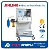良質および小さい蒸発器が付いているJinling-01bの麻酔機械