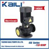 Bomba de água centrífuga de tubagem vertical série ISG (saída50-80mm)