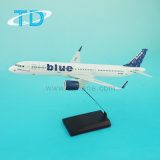 A321neo Resin Desktop Model Airplane