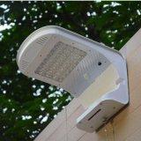 Wand-Garten-Ausgangssolarlicht des Bewegungs-Fühler-LED helles mit Batterie-Backup
