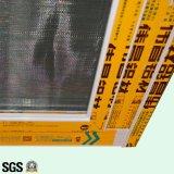Glijdende Venster van het Aluminium van het Slot van de goede Kwaliteit het Poeder Met een laag bedekte Toenemende met Net K01048