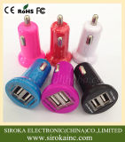 2017 горячий продавая заряжатель автомобиля USB мобильного телефона 5V 3.1A портативный двойной