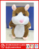 Venda quente que fala o brinquedo bonito do hamster com música