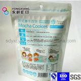 Größe kundenspezifischer Fastfood- Beutel/Beutel mit Reißverschluss/Reißverschluss für kleine Nahrung