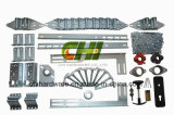 De lage Hardware van de Deur van de Garage van de Vrije hoogte