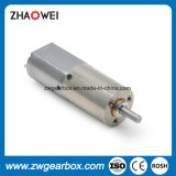 Motor de la caja de engranajes del eje de salida del metal pequeño para el hogar elegante