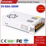 5V 60A 300W Schaltungs-Stromversorgung für LED-Bildschirm