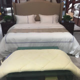 Insiemi bianchi normali 100% dell'assestamento dell'albergo di lusso del cotone